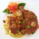CHICKEN CACCIATORA - With Fresh Fettuccine in Tomato Sauce