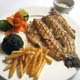 GRILLED TROUT FISH With Sliced Almond - Arcobaleno Italian Signature Dish Menu