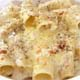 RIGATONI FORMAGGIO - Mozzarella Cheese, Parmesan Cheese, Ricotta Cheese, and Blue Cheese