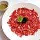 SLICED BEEF CARPACCIO